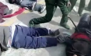 Répression sanglante au Tibet (2012)