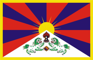 Au Tibet, posséder un drapeau tibétain vous conduit droit en prison pour des années.
